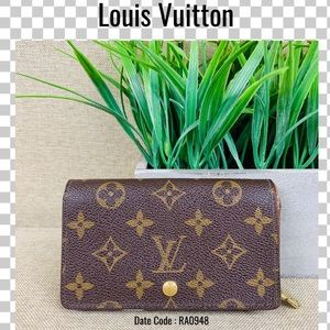 Louis Vuitton wallet tresor porte monnaie vie purs